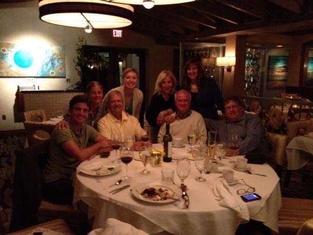Fun dinner at Charley's Crab
