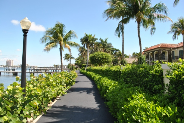Lake Trail, there are some beautiful views and homes along this path