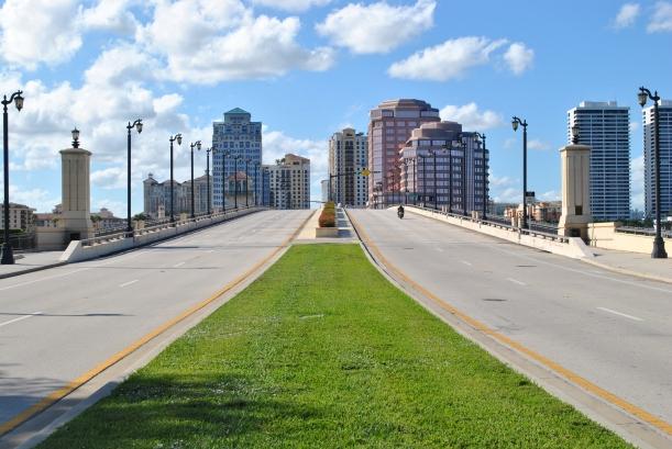 Royal Palm Bridge, this connects West Palm & Palm Beach