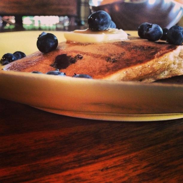 blueberry panckes 2