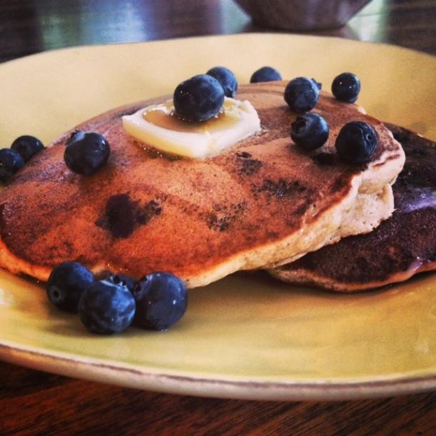 blueberry panckes